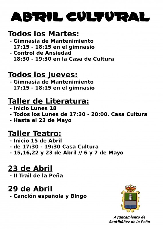abril cultural